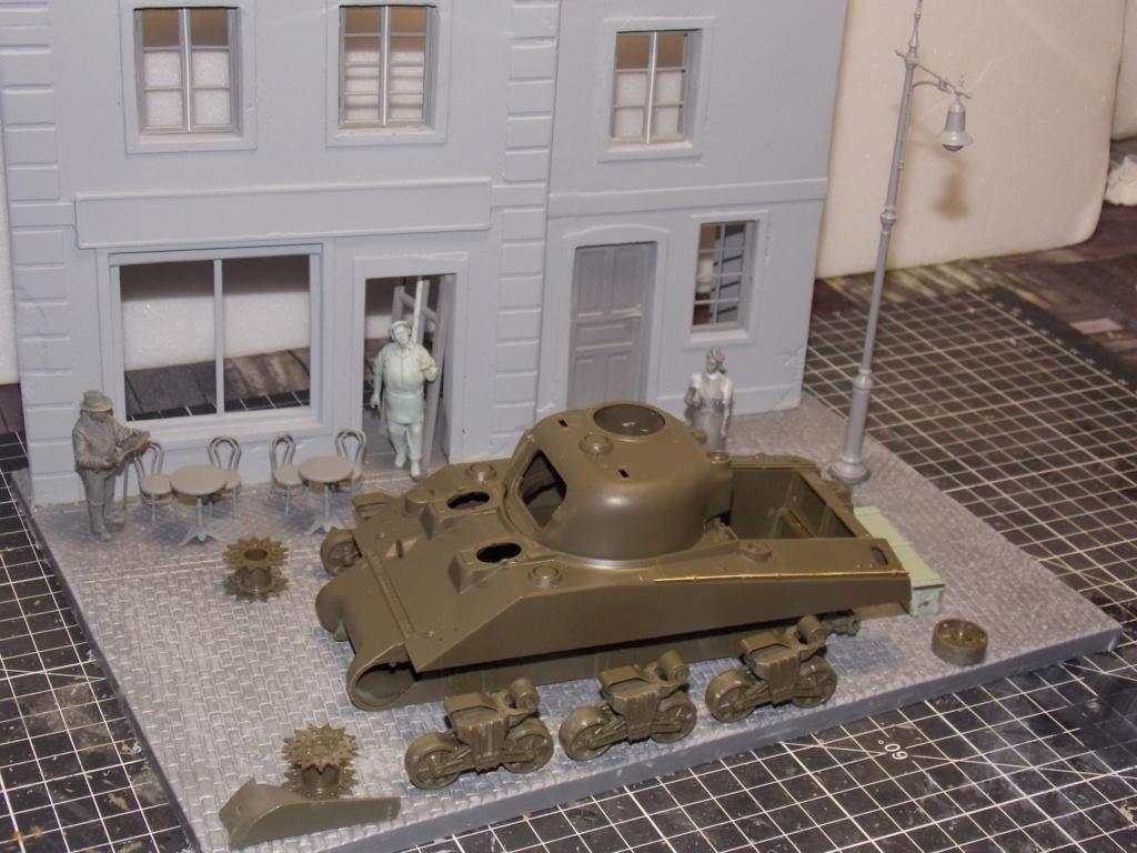 "Sherman le ""ROMILLY ""  maquette ASUKA  1/35  Dscn7702"