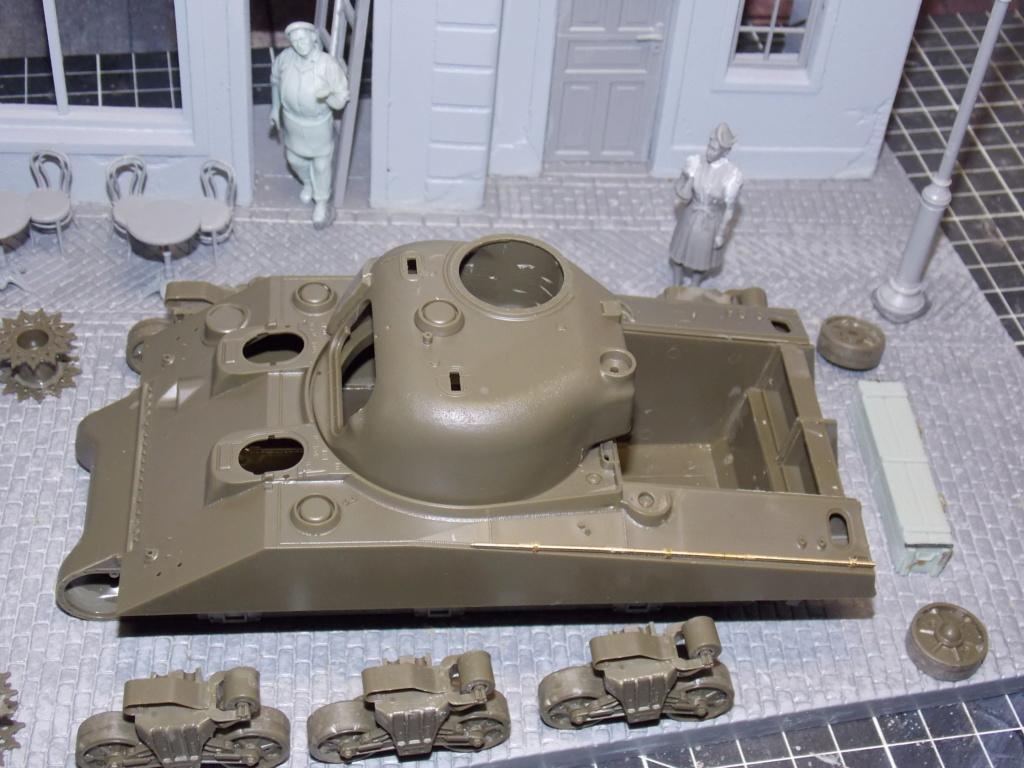 "Sherman le ""ROMILLY ""  maquette ASUKA  1/35  Dscn7703"