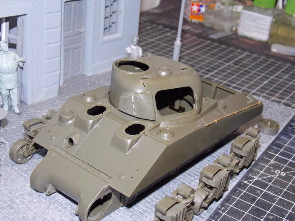 "Sherman le ""ROMILLY ""  maquette ASUKA  1/35  Dscn7704"