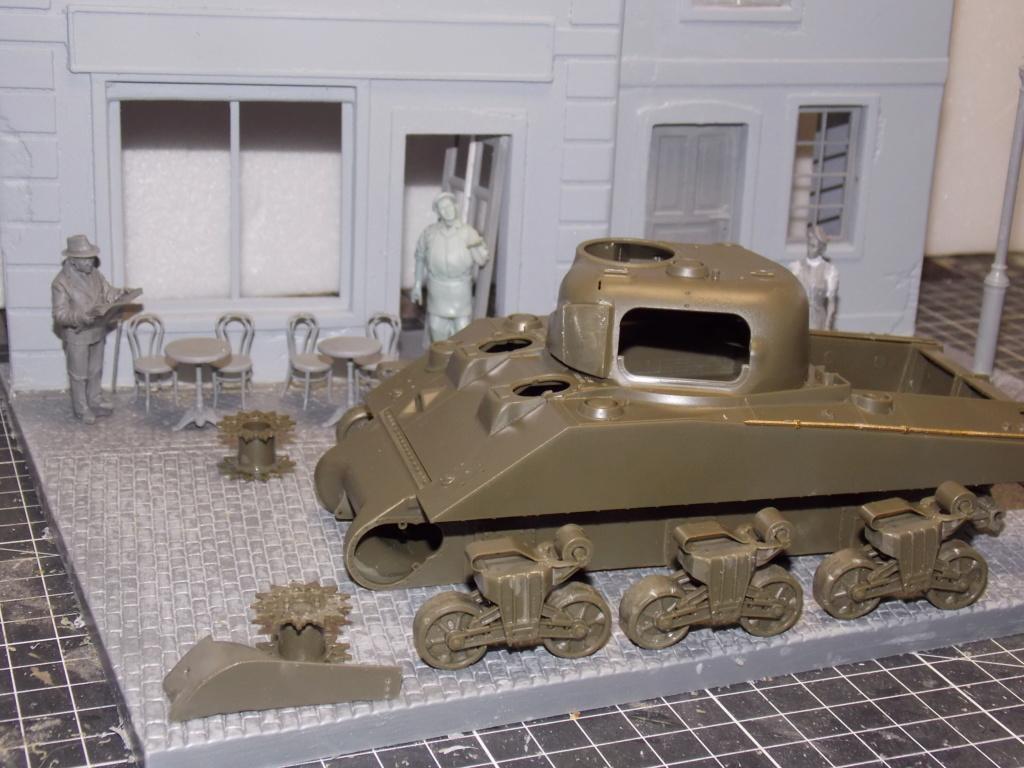 "Sherman le ""ROMILLY ""  maquette ASUKA  1/35  Dscn7705"
