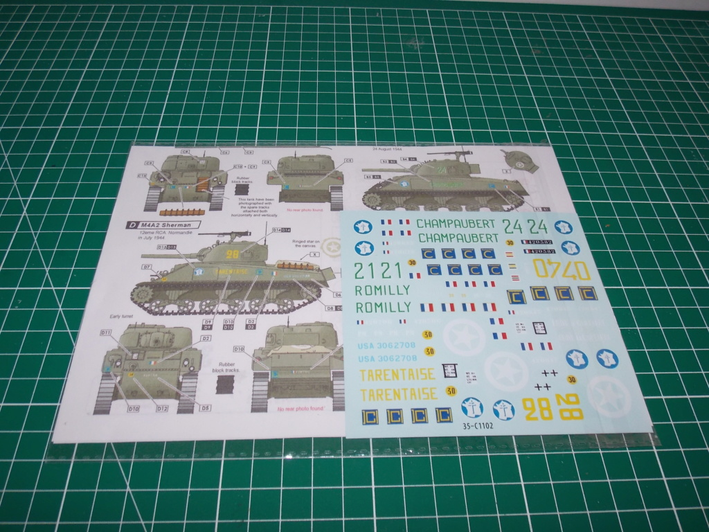 M4A2 ROMILLY 2me DB Asuka decor miniart 1/35 Dscn7910