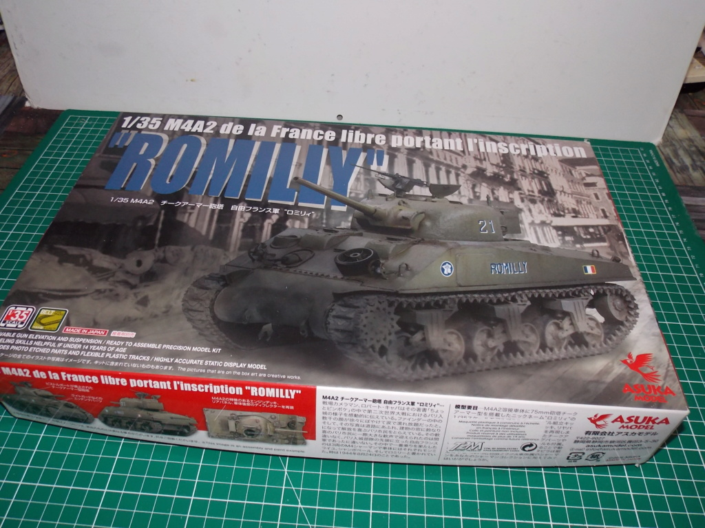 M4A2 ROMILLY 2me DB Asuka decor miniart 1/35 Dscn7911