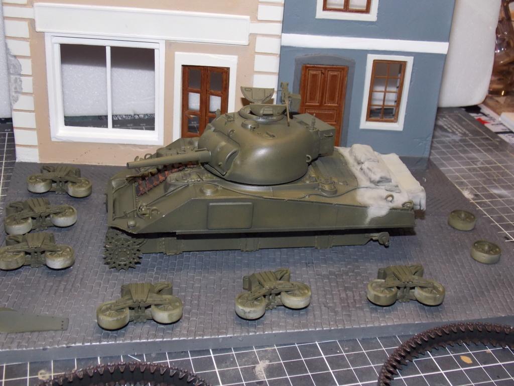 "Sherman le ""ROMILLY ""  maquette ASUKA  1/35  Dscn7936"
