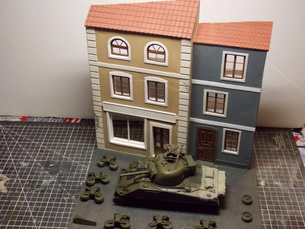 "Sherman le ""ROMILLY ""  maquette ASUKA  1/35  Dscn7937"
