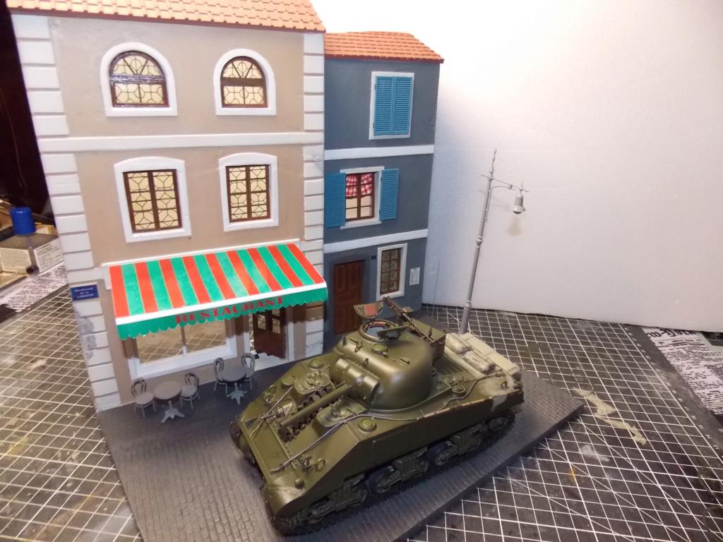 "Sherman le ""ROMILLY ""  maquette ASUKA  1/35  Dscn7938"