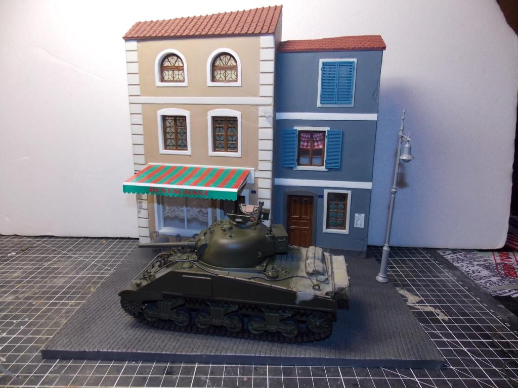 "Sherman le ""ROMILLY ""  maquette ASUKA  1/35  Dscn7940"