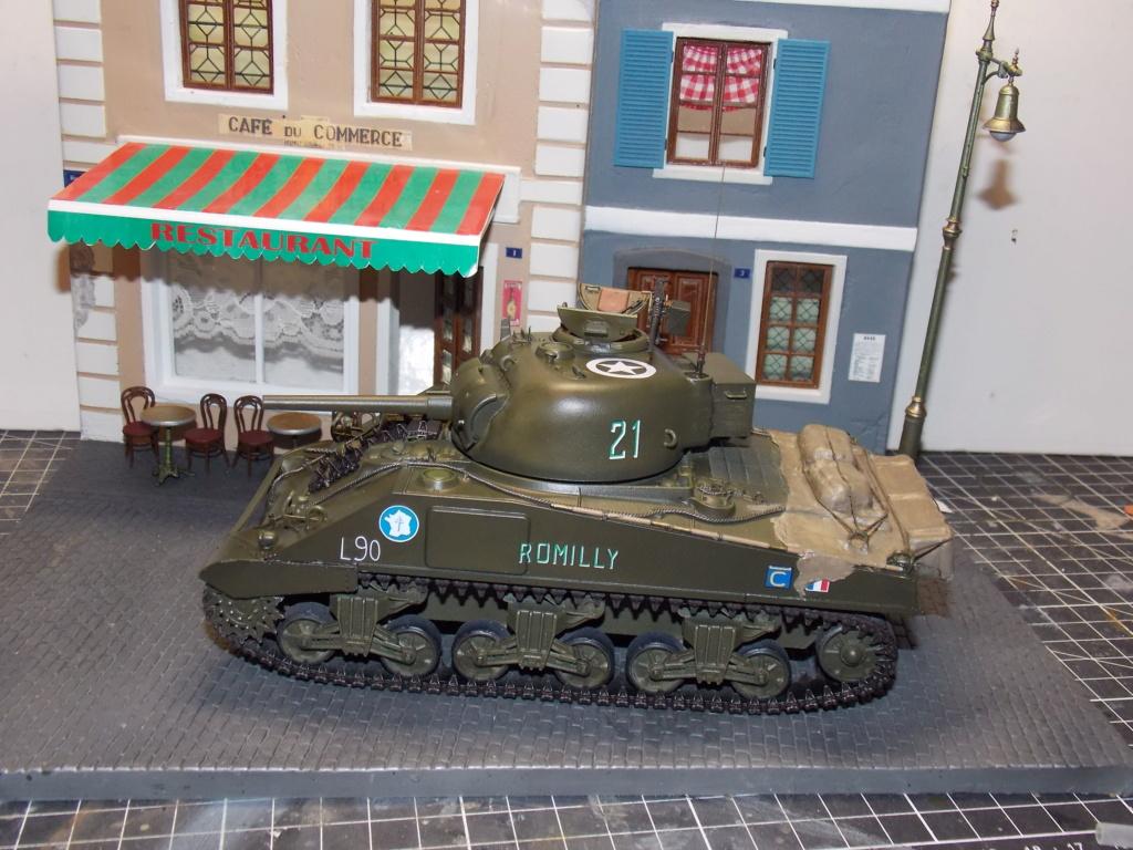 "Sherman le ""ROMILLY ""  maquette ASUKA  1/35  Dscn7952"
