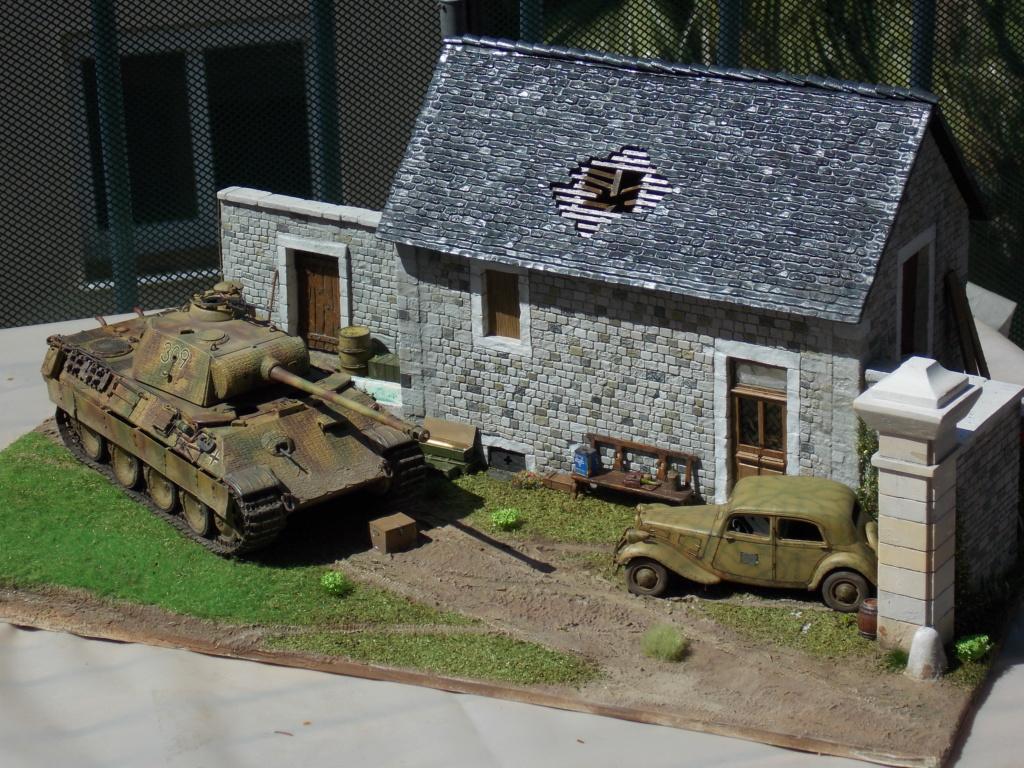 Baby Division Caen 1944 (Panther Takom/ Traction Tamiya- décor Mk35 au 1/35) - Page 17 Dscn8316