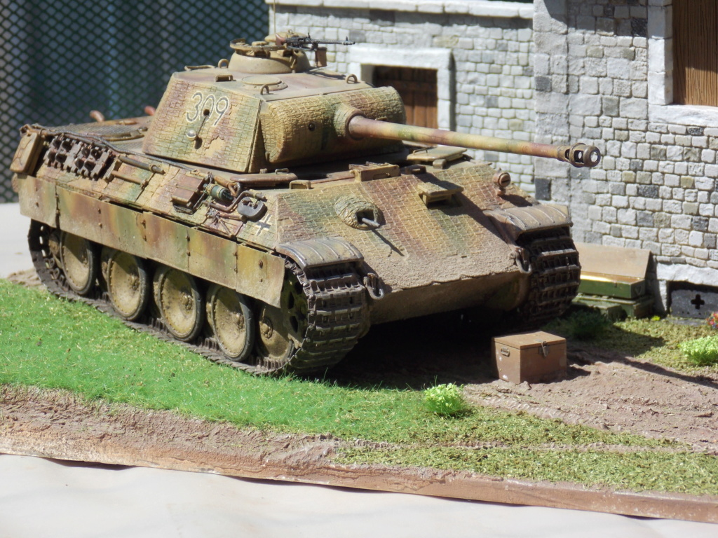 Baby Division Caen 1944 (Panther Takom/ Traction Tamiya- décor Mk35 au 1/35) - Page 17 Dscn8318