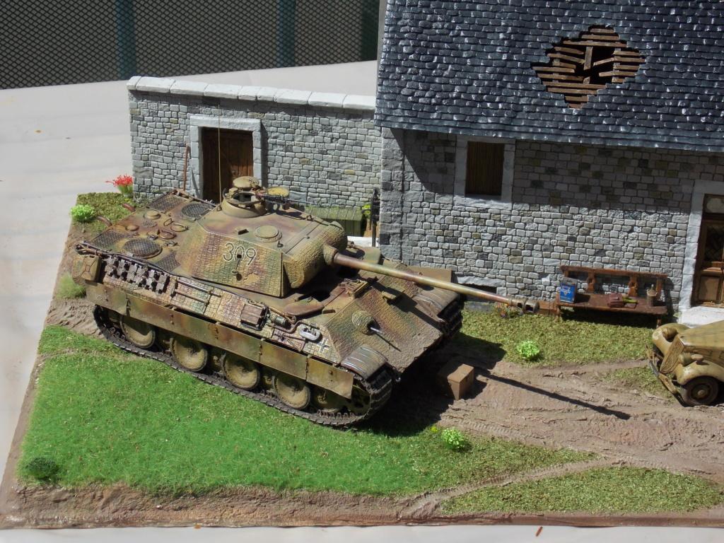 Baby Division Caen 1944 (Panther Takom/ Traction Tamiya- décor Mk35 au 1/35) - Page 17 Dscn8320