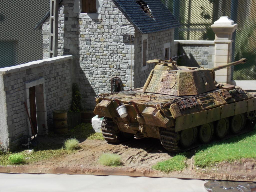Baby Division Caen 1944 (Panther Takom/ Traction Tamiya- décor Mk35 au 1/35) - Page 17 Dscn8324
