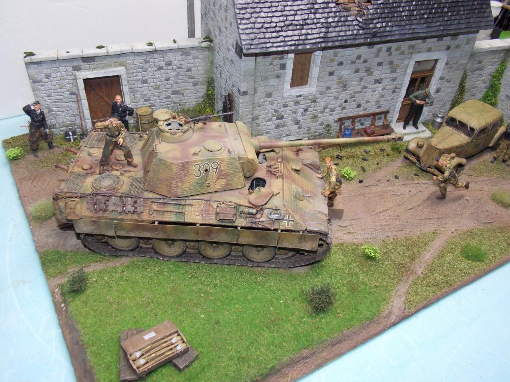 Baby Division Caen 1944 (Panther Takom/ Traction Tamiya- décor Mk35 au 1/35) - Page 20 Dscn8427