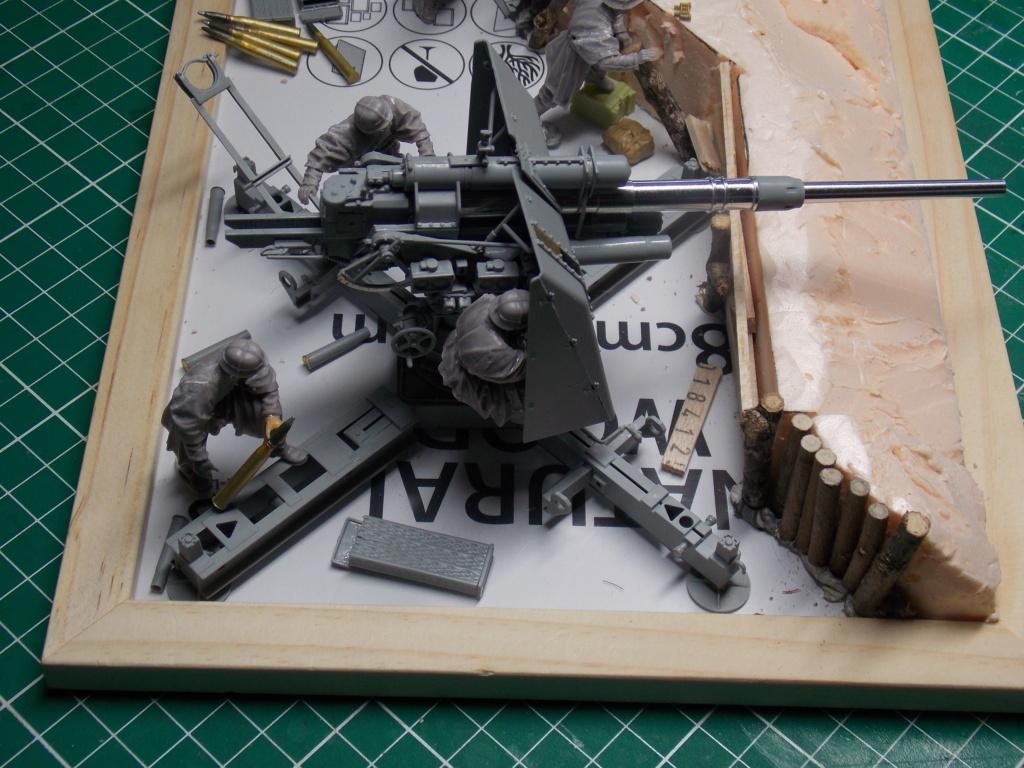 88mm en embuscade - Hauteurs de Bourguébus  Juin 44 (Dragon 1/35) fini Dscn8642