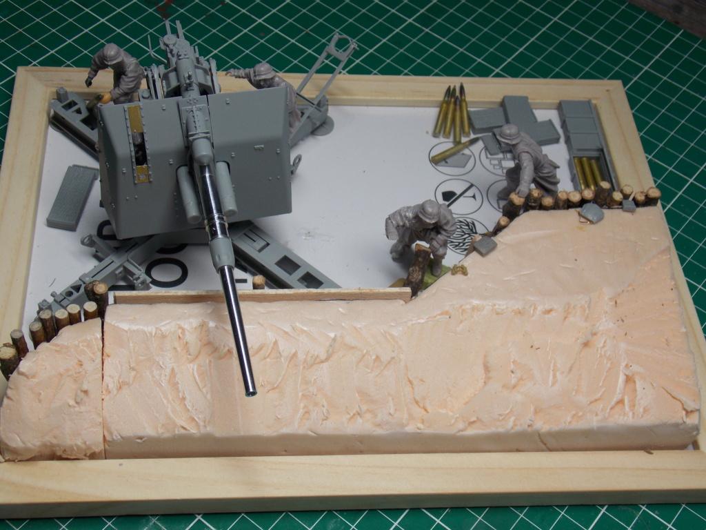 88mm en embuscade - Hauteurs de Bourguébus  Juin 44 (Dragon 1/35) fini Dscn8643