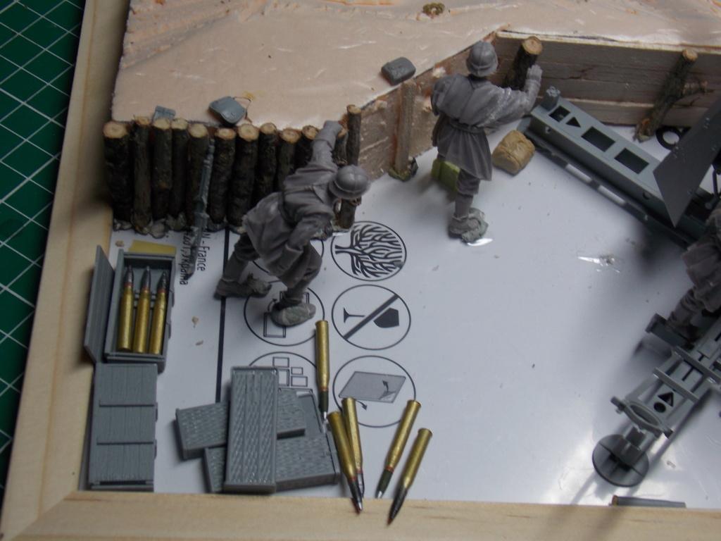 88mm en embuscade - Hauteurs de Bourguébus  Juin 44 (Dragon 1/35) fini Dscn8644