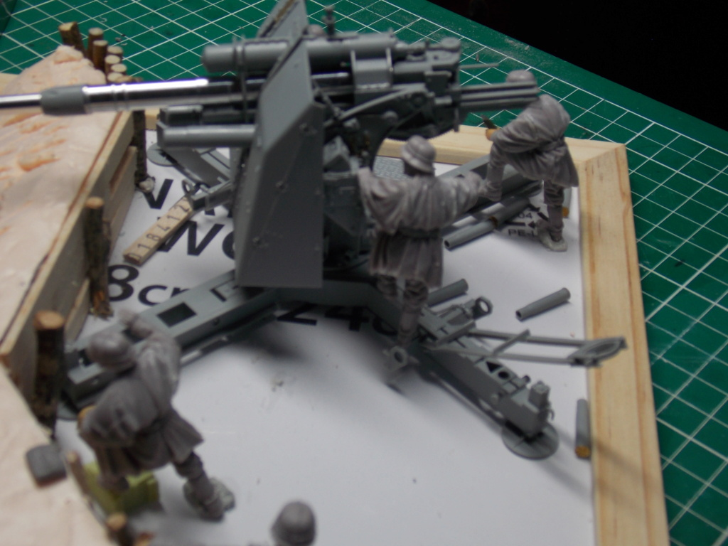 88mm en embuscade - Hauteurs de Bourguébus  Juin 44 (Dragon 1/35) fini Dscn8645
