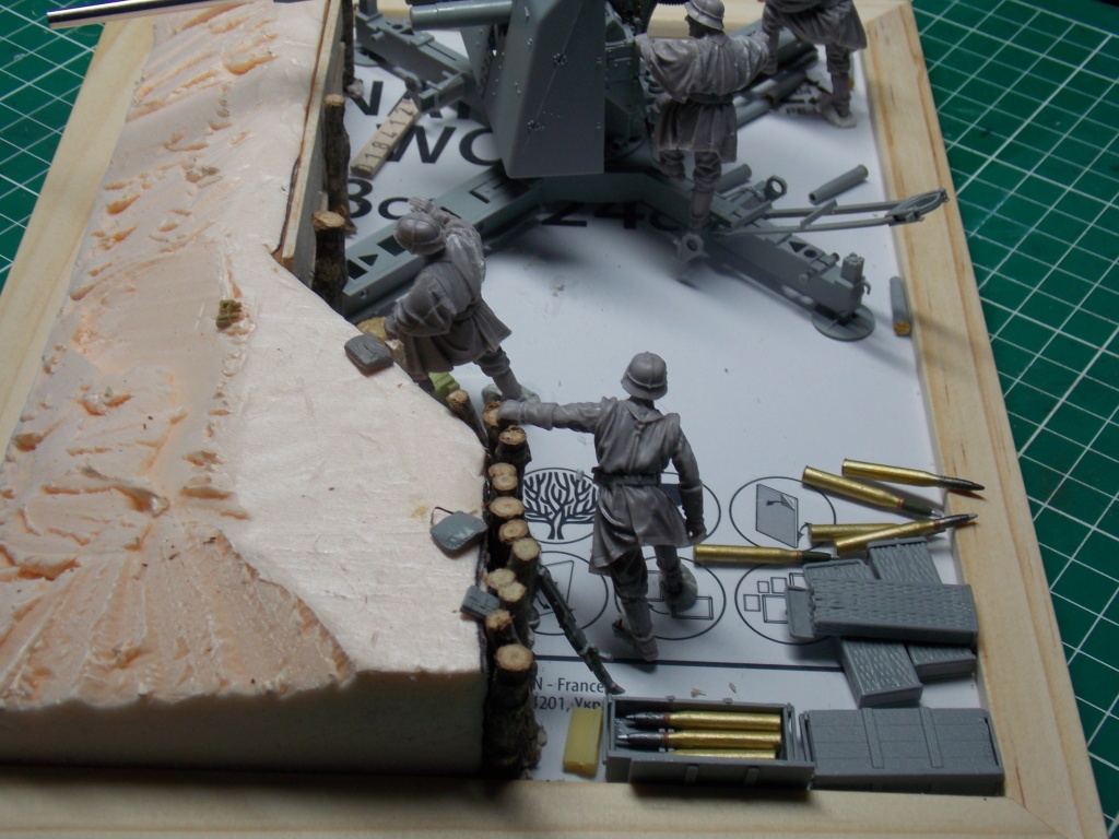 88mm en embuscade - Hauteurs de Bourguébus  Juin 44 (Dragon 1/35) fini Dscn8646