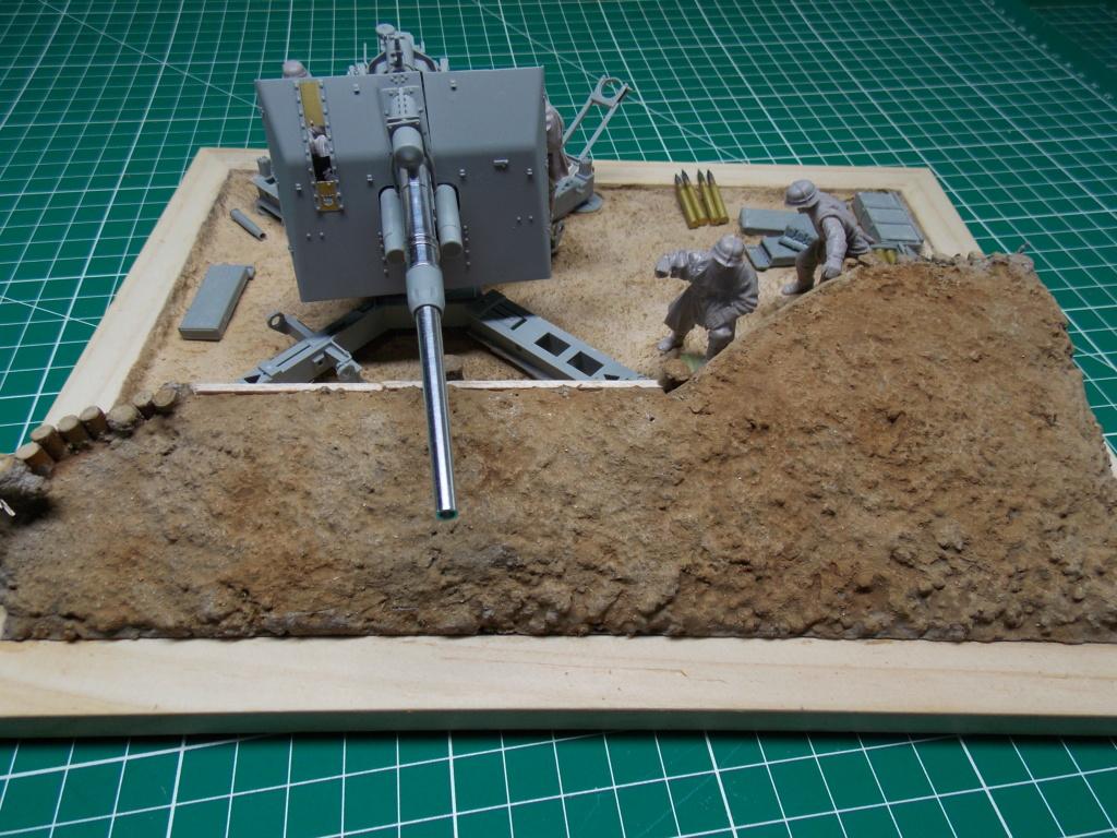 88mm en embuscade - Hauteurs de Bourguébus  Juin 44 (Dragon 1/35) fini Dscn8658