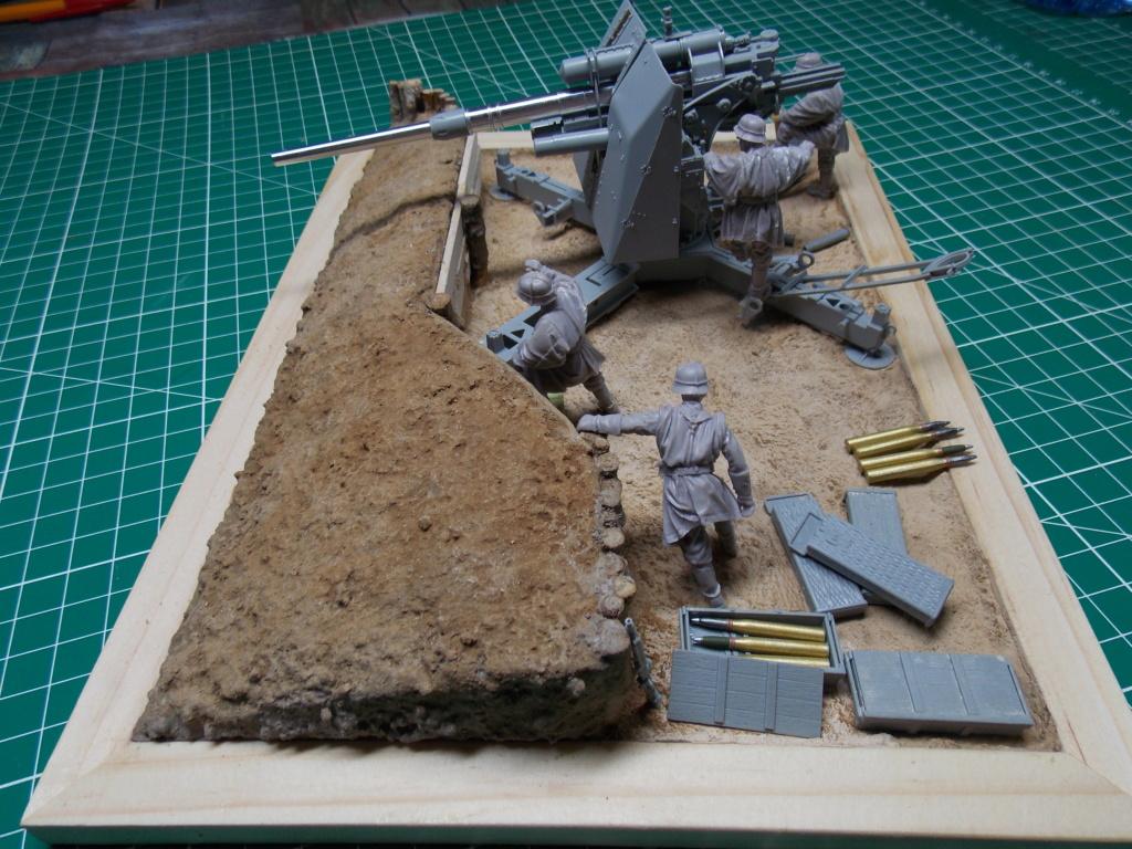 88mm en embuscade - Hauteurs de Bourguébus  Juin 44 (Dragon 1/35) fini Dscn8659