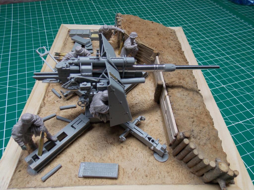 88mm en embuscade - Hauteurs de Bourguébus  Juin 44 (Dragon 1/35) fini Dscn8661