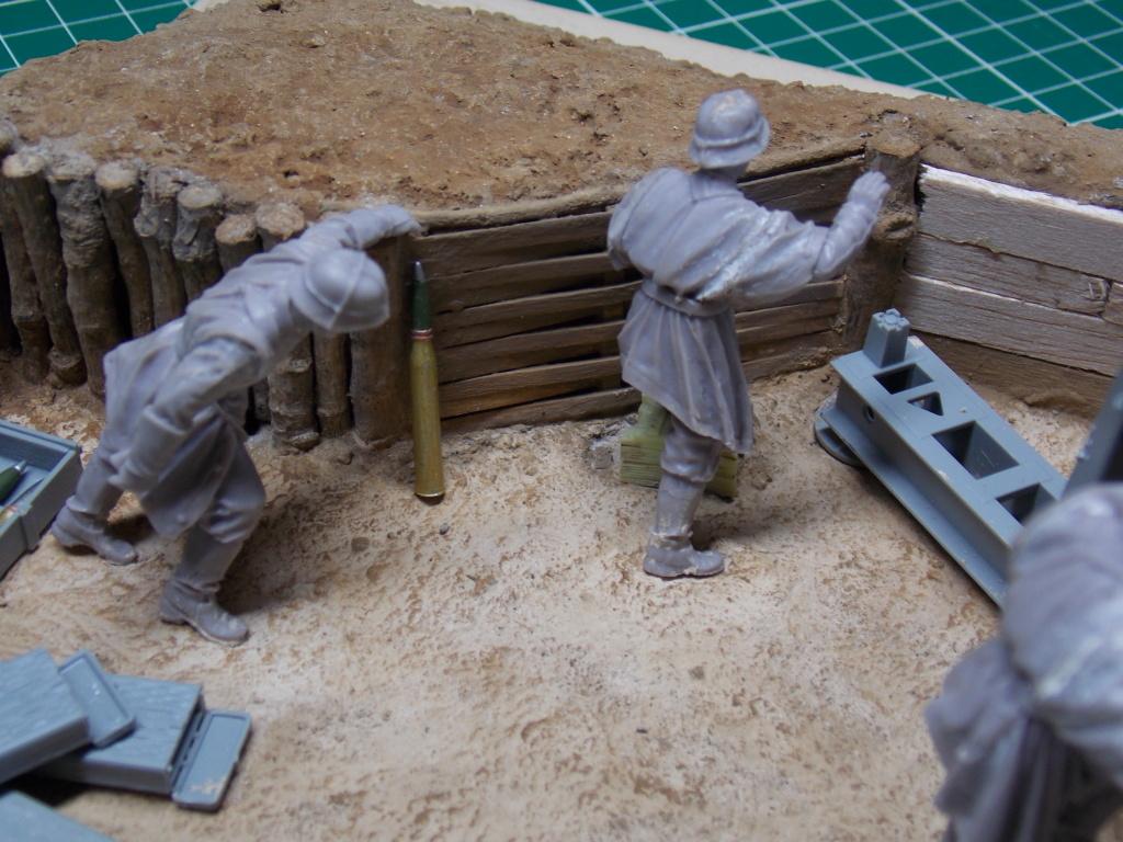 88mm en embuscade - Hauteurs de Bourguébus  Juin 44 (Dragon 1/35) fini Dscn8662