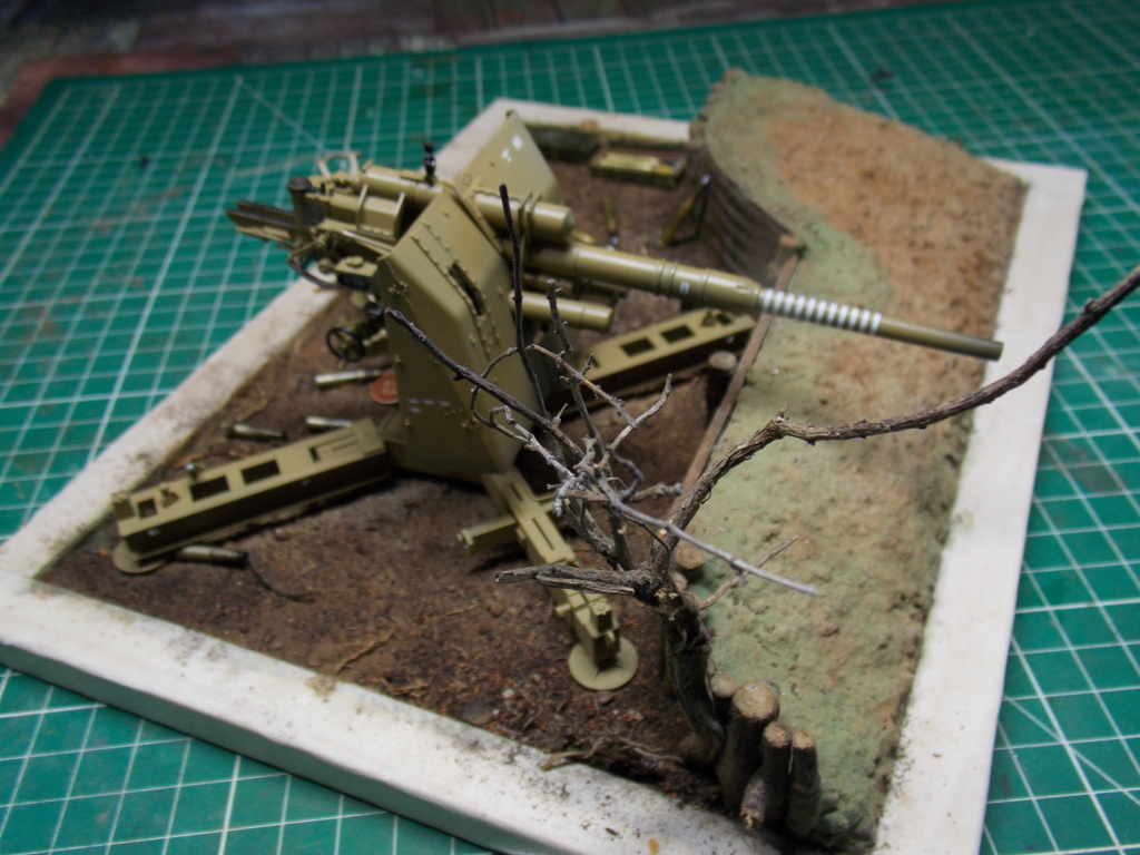 88mm en embuscade - Hauteurs de Bourguébus  Juin 44 (Dragon 1/35) fini - Page 3 Dscn8770