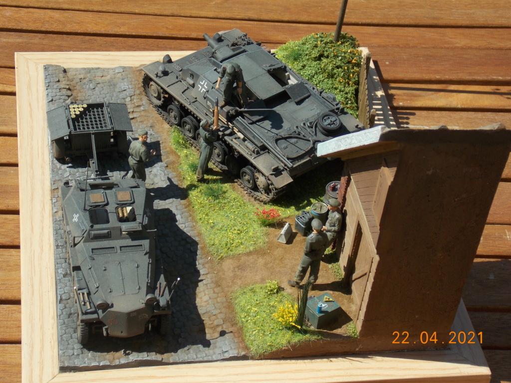 Quelque part sur le front de l'Est Juin 41 - Stug III Ausf.B (Tamiya ) et Sd.Kfz.252 (Dragon ) 1/35 - Page 10 Dscn9114