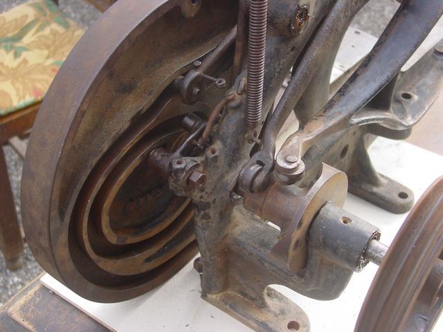 Machine à coudre de Sellier UNITED 6 (Pearson) Pearso12