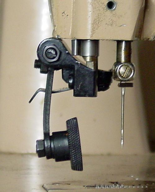 Convertir Singer 191b 15k pour coudre le cuir avec une roulette Singer15