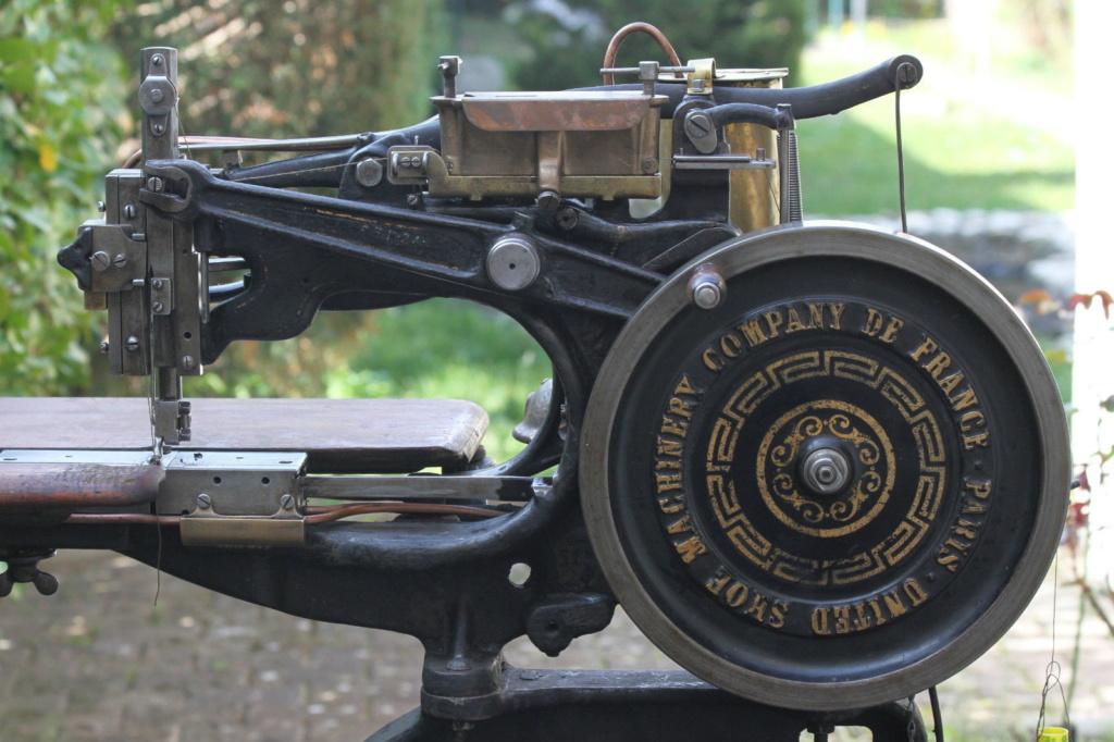Machine à coudre de Sellier UNITED 6 (Pearson) United11
