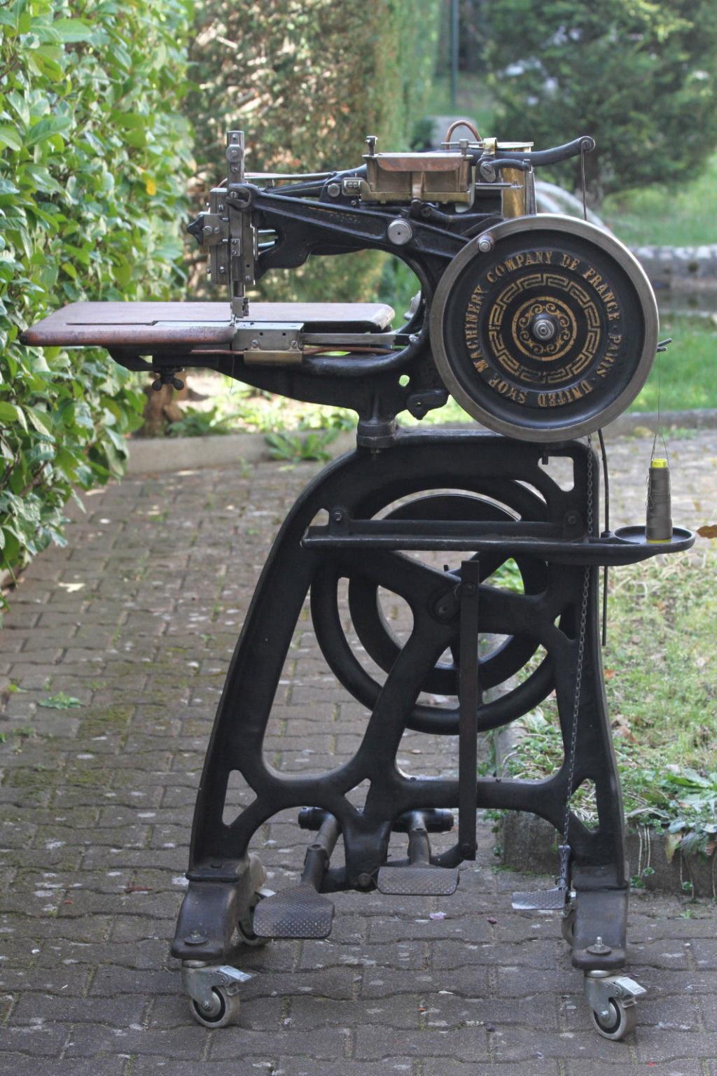 Machine à coudre de Sellier UNITED 6 (Pearson) United12