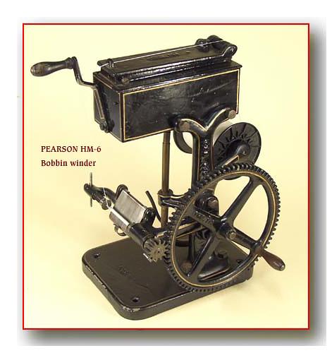 Machine à coudre de Sellier UNITED 6 (Pearson) United16