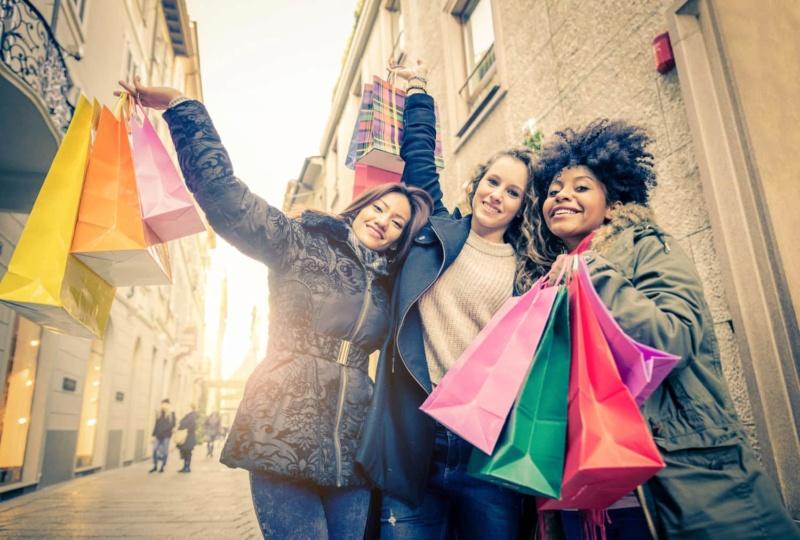 Миллениалы: покупательское поведение. Инфографика Shoppi10