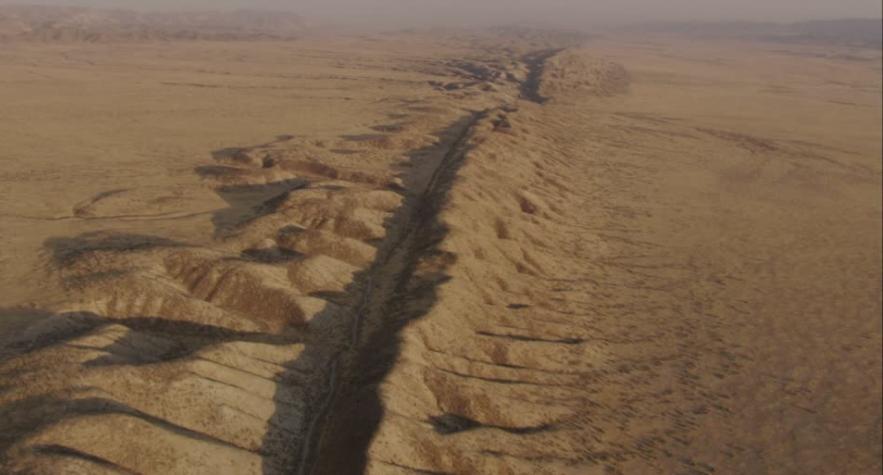 Faille de San Andreas vue du ciel. Captur22