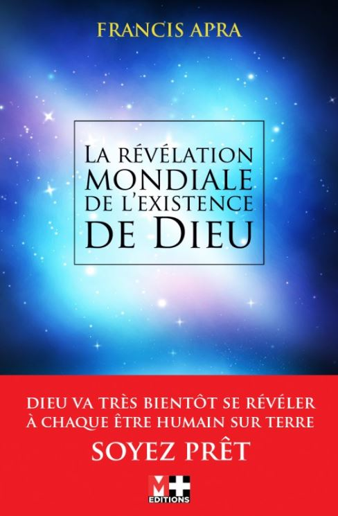 """Mon livre """" La révélation mondiale de l'existence de Dieu """" Livre111"""