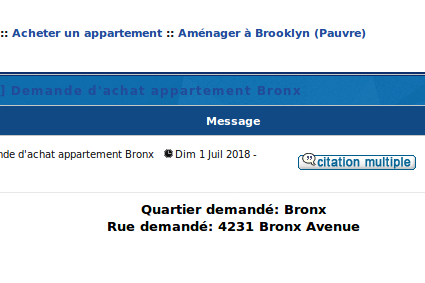 [BRP] Demande d'achat appartement Bronx Captur37