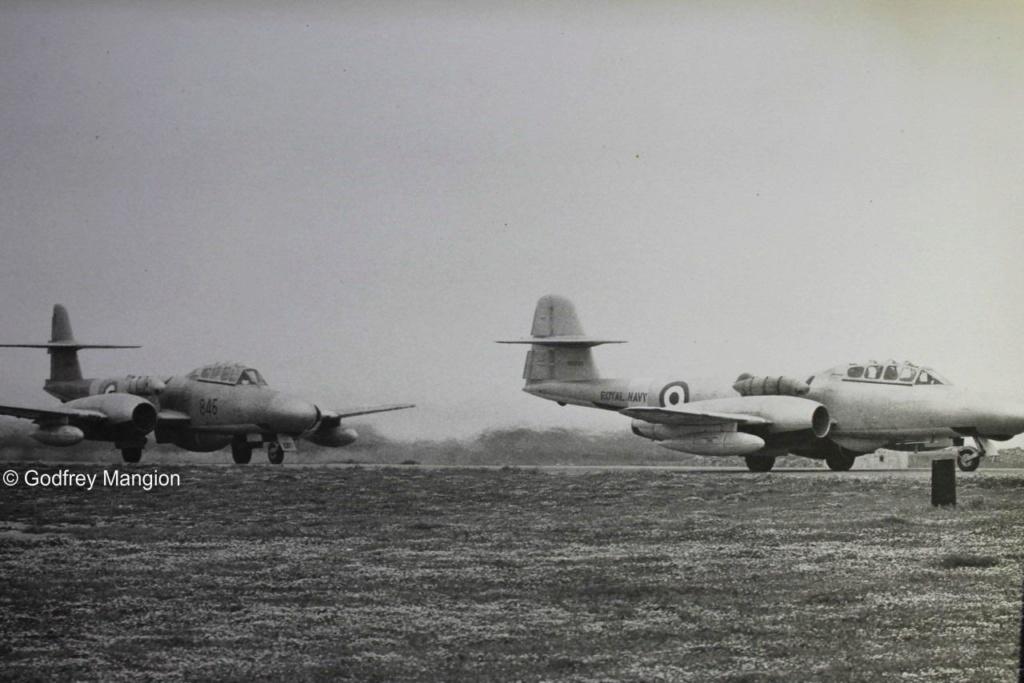 Gloster Meteor de la RN Muster16