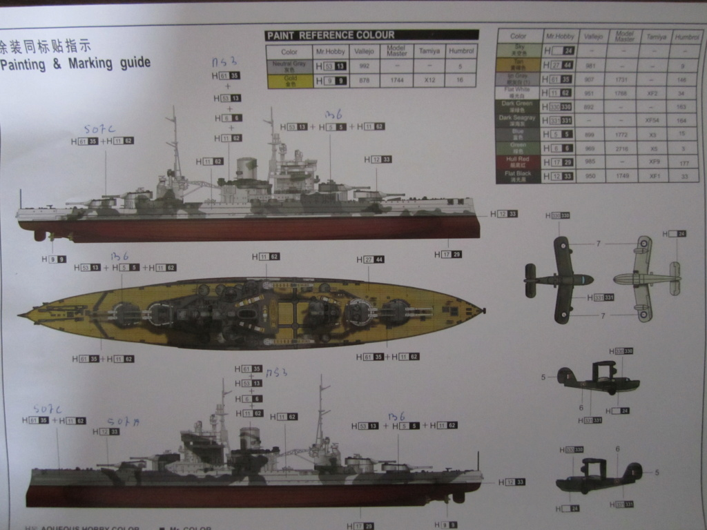 HMS Queen Elizabeth 1/700 Trumpeter Img_2614