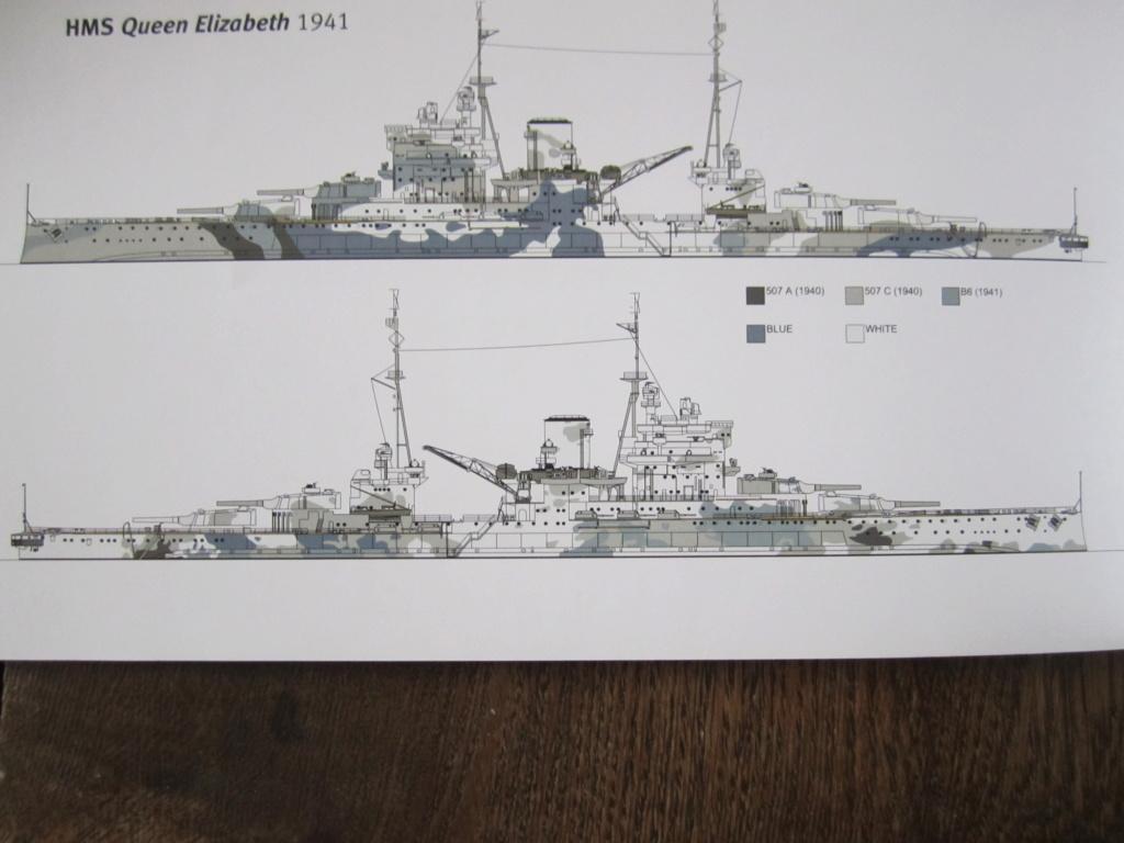 HMS Queen Elizabeth 1/700 Trumpeter Img_2615