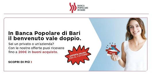 APERTURA TIME DEPOSIT STEP UP (BANCA POPOLARE DI BARI) Cattur10