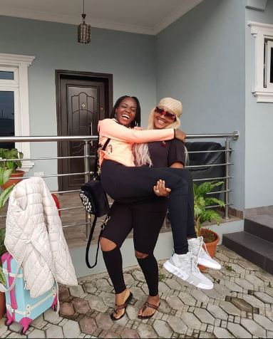 Mercy Aigbe Gets Emotional As Daughter Leaves For School Abroad Merrrr10