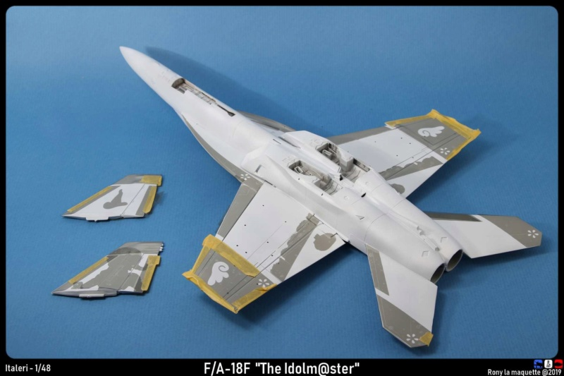 """Montage du F/A-18F """"The Idolmaster"""",  1/48 - Page 2 Monta100"""