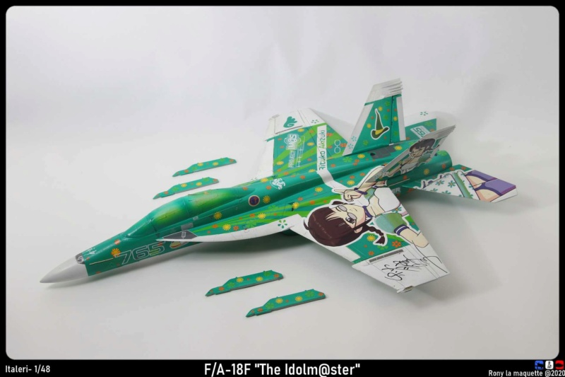 """Montage du F/A-18F """"The Idolmaster"""",  1/48 - Page 2 Monta206"""