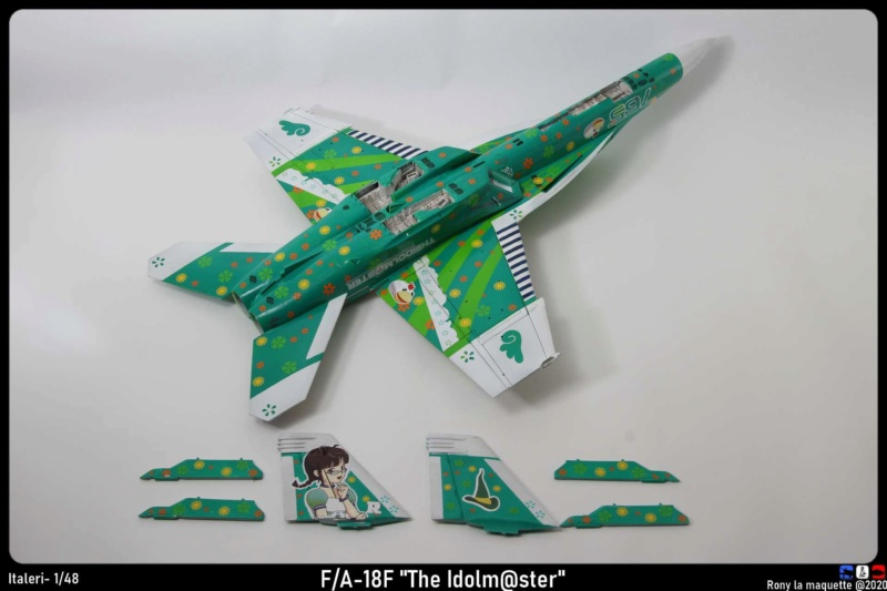 """Montage du F/A-18F """"The Idolmaster"""",  1/48 - Page 2 Monta207"""
