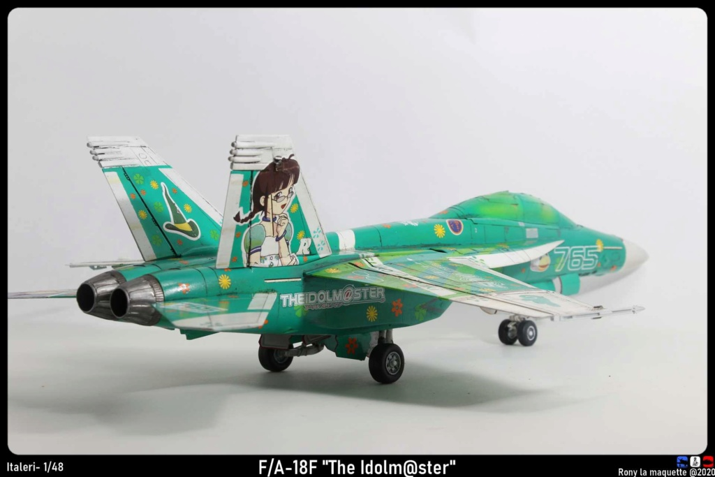"Montage du F/A-18F ""The Idolmaster"",  1/48 - Page 3 Monta214"