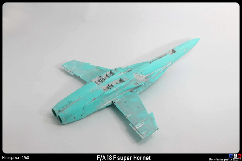 """Montage du F/A-18F """"The Idolmaster"""",  1/48 Montag50"""