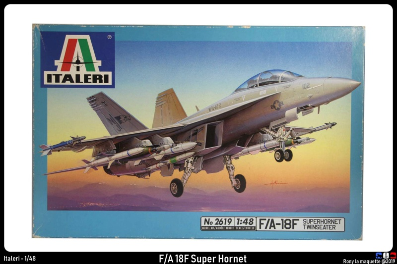 """Montage du F/A-18F """"The Idolmaster"""",  1/48 Montag51"""