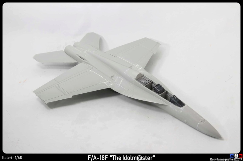 """Montage du F/A-18F """"The Idolmaster"""",  1/48 Montag94"""