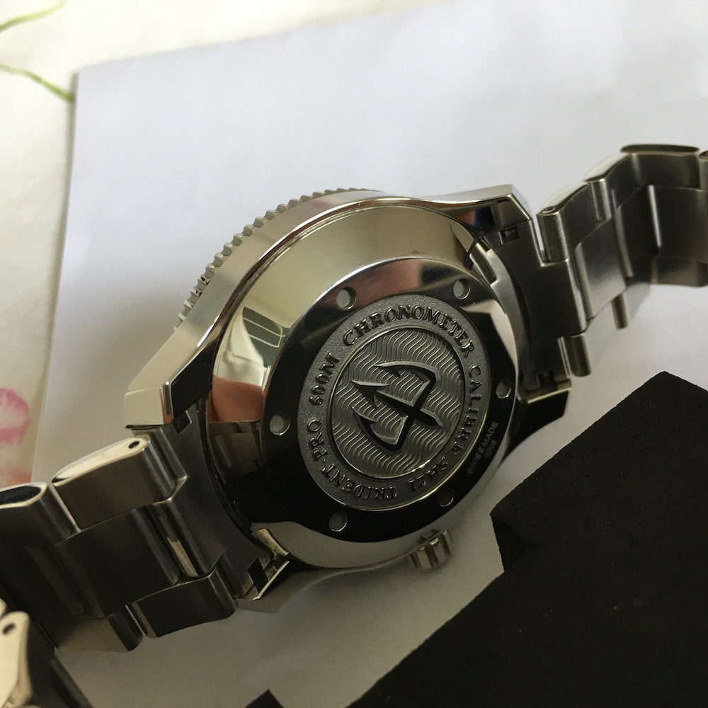 ward - [Vendue] Christopher Ward Pro 600 Trident SH21 Chronomètre 800€ Img_6923