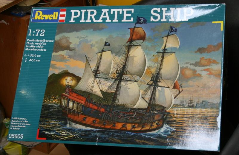 Piratenschiff / Revell, 1:72 132